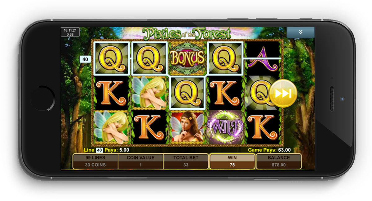Pixies Of The Forest Slot from IGT